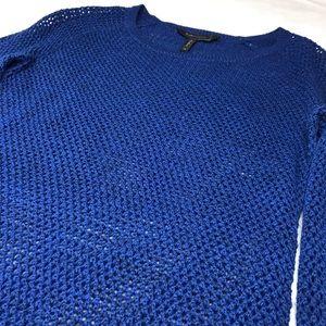 BCBG Open Knit Top